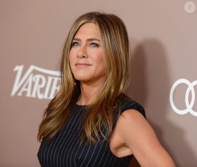 Jennifer Aniston lors de la soirée 'Power of Women 2019' à l'hôtel Beverly Wilshire Four Season à Beverly Hills, le 11 octobre 2019.