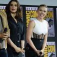 """Rachel Weisz, Scarlett Johansson - """"Marvel Studios"""" - 3ème jour - Comic-Con International 2019 au """"San Diego Convention Center"""" à San Diego, le 20 juillet 2019."""