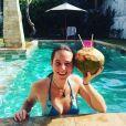 "Clo de ""Koh-Lanta"" à la piscine, photo Instagram, 29 juin 2019"