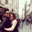 Clo dans les bras de sa chérie Manon, sur Instagram le 17 octobre 2019.