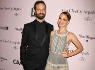 Natalie Portman : En robe transparente pour soutenir Benjamin Millepied
