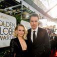 Kristen Bell et son mari Dax Shepard - La 74ème cérémonie annuelle des Golden Globe Awards à Beverly Hills, le 8 janvier 2017. © Hfpa/AdMedia/Zuma Press/Bestimage