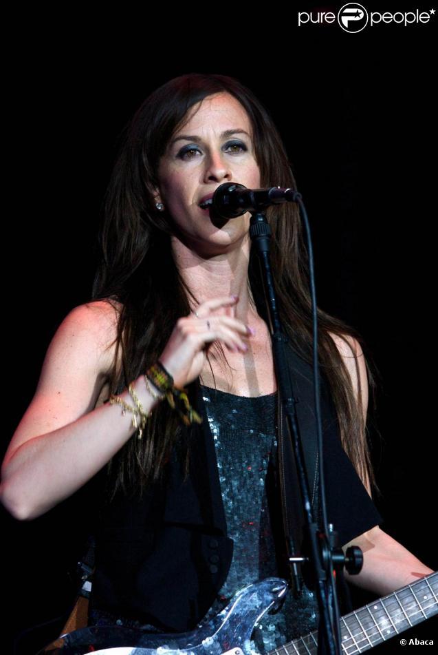 Alanis Morissette, mince en février 2009