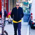 Pete Davidson a été aperçu dans les rues de New York. L'acteur a été aperçu quittant l'immeuble dans lequel le mannequin K.Gerber vit. Le 23 octobre 2019. 23/10/2019 - New York