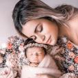 Carla Moreau et sa fille Ruby le 24 octobre 2019 sur Instagram.