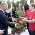 Camilla Parker Bowles et le Prince Charles assistent à la Garden Party donnée dans les jardins de Buckingham Palace