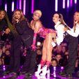 Nicki Minaj aux MTV Europe Music Awards à Bilbao, Espagne, le 4 novembre 2018. © Future-Image/ZUMA Press/Bestimage