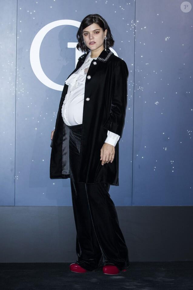Soko enceinte - Photocall du gala de l'ouverture de la saison de l'Opéra de Paris à Paris le 27 septembre 2018. © Olivier Borde/Bestimage