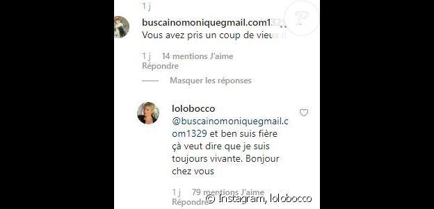 Laurence Boccolini critiquée sur Instagram, le 5 novembre 2019