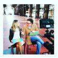 Amelie Etasse et Grégoire Bonnet en mode promo. Octobre 2019. Instagram.