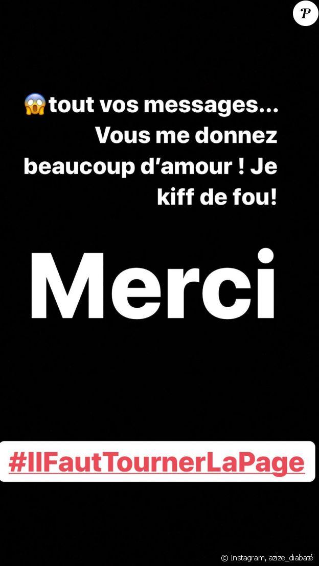 """Azize Diabaté réagi à son élimination de """"Danse avec les stars 2019"""", le 7 novembre"""