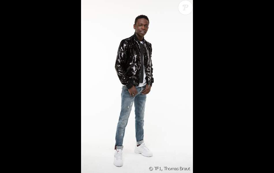 """Azize Diabaté, photo officielle de """"Danse avec les stars 2019"""", sur TF1"""