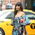 Jameela Jamil à la sortie des studios AOL Build à New York, le 26 septembre 2019.