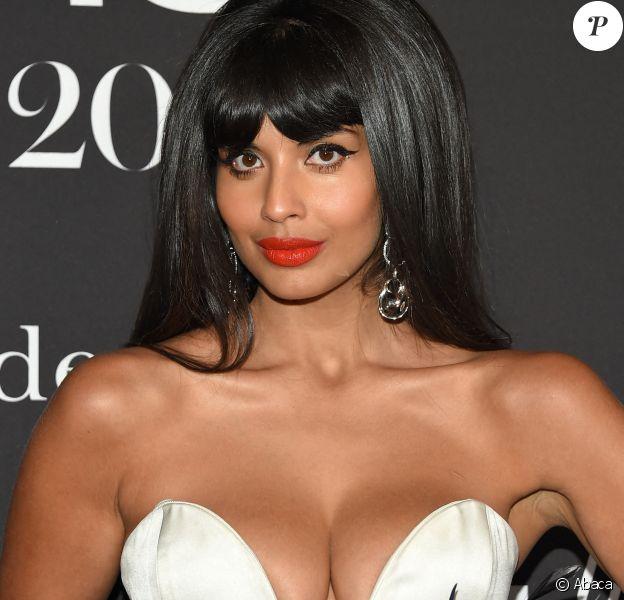 "Jameela Jamil à la 5e cérémonie des ""InStyle Awards"" au Getty Center de Los Angeles. Le 21 octobre 2019. @O'Connor/AFF/ABACAPRESS.COM"