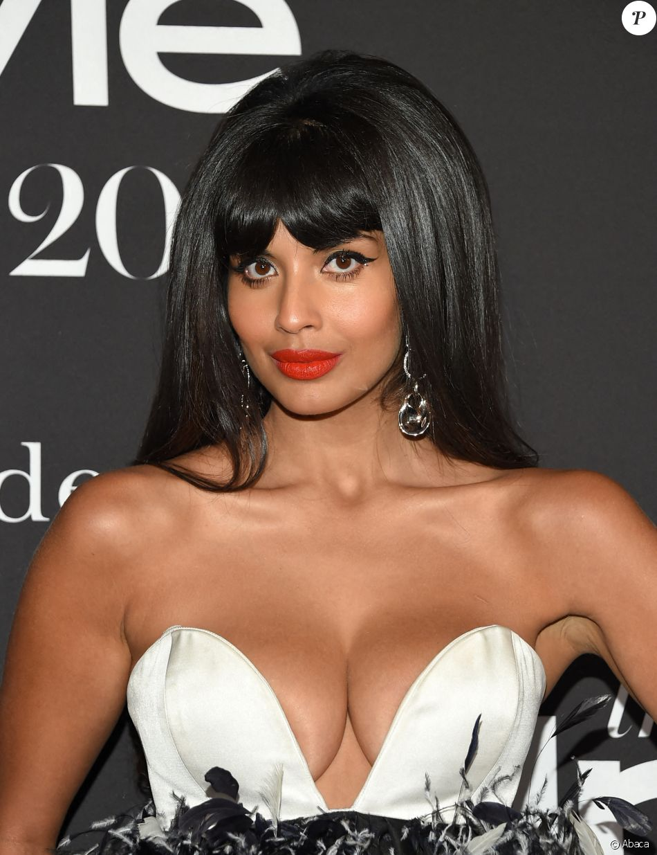 "Jameela Jamil à la 5e cérémonie des ""InStyle Awards"" au Getty Center de Los Angeles. Le 21 octobre 2019. @O'Connor/AFF/ABACAPRESS.COM"