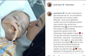 Jazz, son fils Cayden sorti de l'hôpital : terrible photo, mais bonne nouvelle