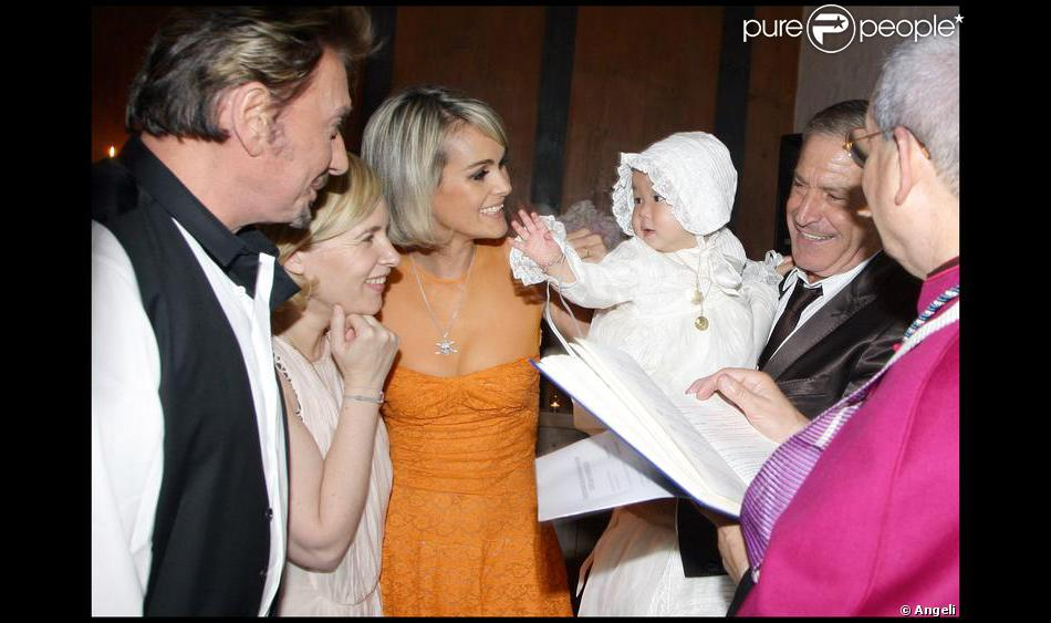 Bapt me de joy gstaad en suisse le 5 juillet 2009 - Helene darroze et son mari ...