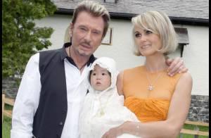 Johnny et Laeticia Hallyday : Toutes les images exclusives du merveilleux baptême de Joy...