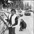 Archives- Roman Polanski à Gstaad en 1981.