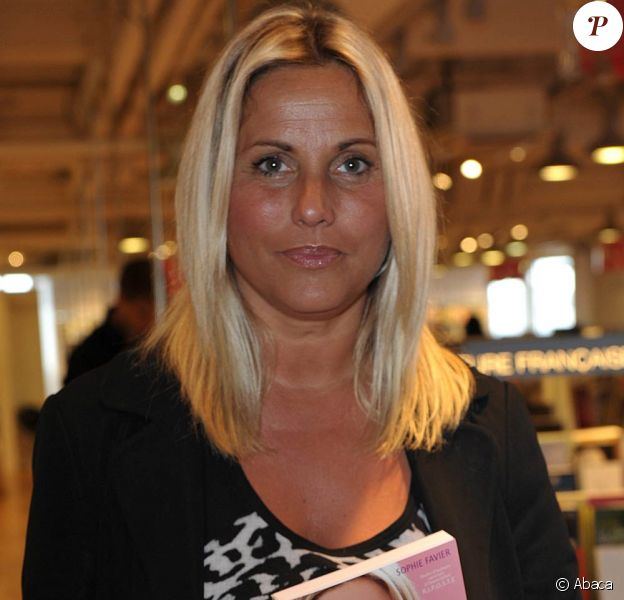 Sophie Favier et son livre sorti en avril 2009