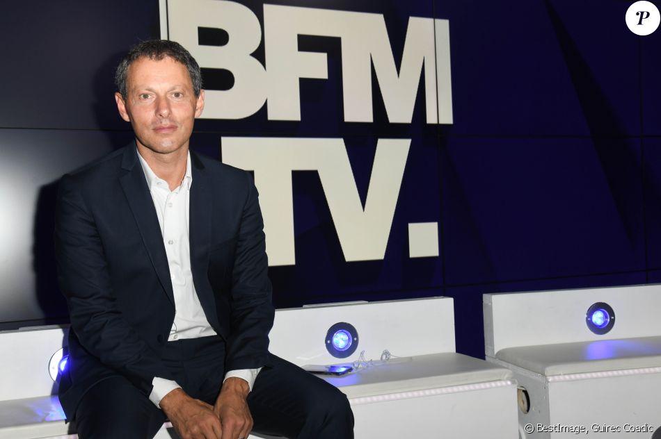 Marc-Olivier Fogiel, PDG de BFMTV - Conférence de presse de rentrée de BFM.TV à Paris le 5 septembre 2019. © Guirec Coadic / Bestimage