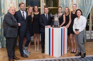 Kristina Mladenovic, Caroline Garcia... Les championnes assorties à l'Élysée