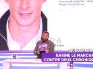 """Karine Le Marchand """"blacklistée"""" de TPMP après s'en être prise aux chroniqueurs"""