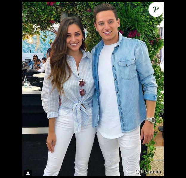 Florian Thauvin et Charlotte Pirroni sur Instagram le 8 mai 2018.