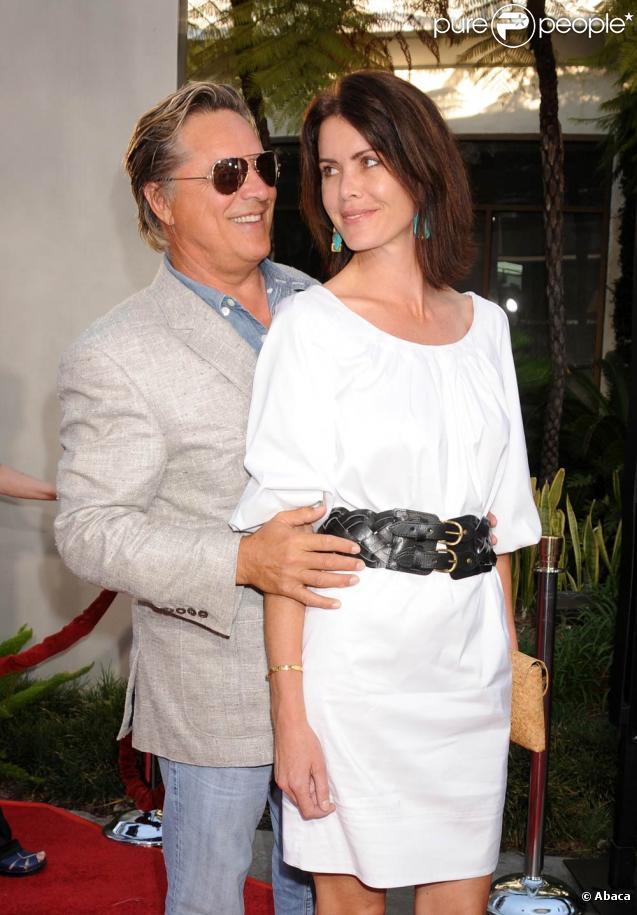 Don Johnson et Kelley Phleger, lors de l'avant-première de  Funny People , à l'ArcLight Theatre d'Hollywood, à Los Angeles, le 20 juillet 2009 !