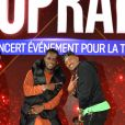 Exclusif - Black M (Alpha Diallo) et Soprano - Répétitions et backstage de la 13e édition du Concert pour la Tolérance 2019 à Agadir au Maroc, qui sera diffusé le 16 novembre 2019 sur W9. © Perusseau-Veeren / Bestimage