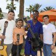 Exclusif - New Gypsies et Black M (Alpha Diallo) - Rendez-vous à l'occasion de la 13e édition du Concert pour la Tolérance 2019 à Agadir au Maroc, qui sera diffusé le 16 novembre 2019 sur W9. © Perusseau-Veeren / Bestimage