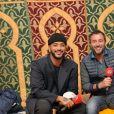 Exclusif - Slimane, Bernard Montiel et Vitaa - Interview RFM lors de la 13e édition du Concert pour la Tolérance 2019 à Agadir au Maroc, qui sera diffusé le 16 novembre 2019 sur W9. © Perusseau-Veeren / Bestimage