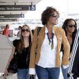 Whitney Houston à l'aéroport de Los Angeles