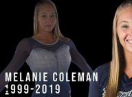 Melanie Coleman : Mort de la gymnaste à 20 ans, après une chute à l'entraînement