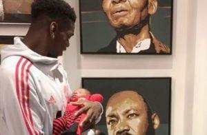 Paul Pogba : Rare photo de son fils à visage découvert et déclaration à Maria