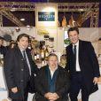 Exclusif - Dominique Restino (président de la CCI Paris), Patrick Toulmet (délégué interministeriel à l'apprentissage) et Benjamin Griveaux à la soirée Rungis au Grand Palais, le festival du bien manger à Paris le 15 novembre 2019. © Jack Tribeca / Bestimage