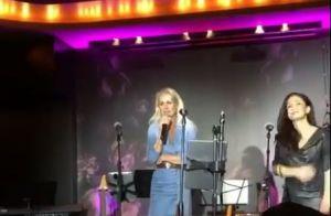 Laeticia Hallyday émue sur scène : son bel hommage à Johnny
