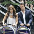 Jennifer Lopez sur le tournage de The Back-Up Plan hier, mardi 21 juillet à New York, avec Alex O'Loughlin