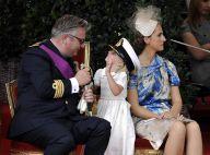 La famille royale de Belgique au complet pour la Fête nationale... et c'est la princesse Louise, 5 ans, qui fait le spectacle !