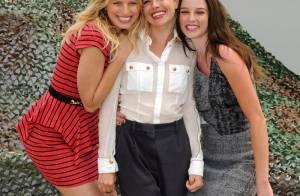 Sienna Miller avec Karolina Kurkova, enceinte et Rachel Nichols : elle est vraiment ravissante... même toute mouillée !