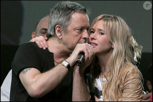 Renaud et Romane Serda- Concert Libertad au Zénith de Rouen, le 23 février 2006.