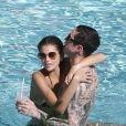 Kaia Gerber et son petit ami Pete Davidson profitent d'un après-midi détente à Miami, le 23 novembre 2019.