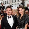 "Laury Thilleman (Miss France 2011) et son compagnon le chef cuisinier Juan Arbelaez - Montée des marches du film ""Douleur et Gloire"" lors du 72ème Festival International du Film de Cannes. Le 17 mai 2019 © Jacovides-Moreau / Bestimage Red carpet for the movie ""Dolor y Gloria"" during the 72nd Cannes International Film festival. On may 17th 201917/05/2019 - Cannes"