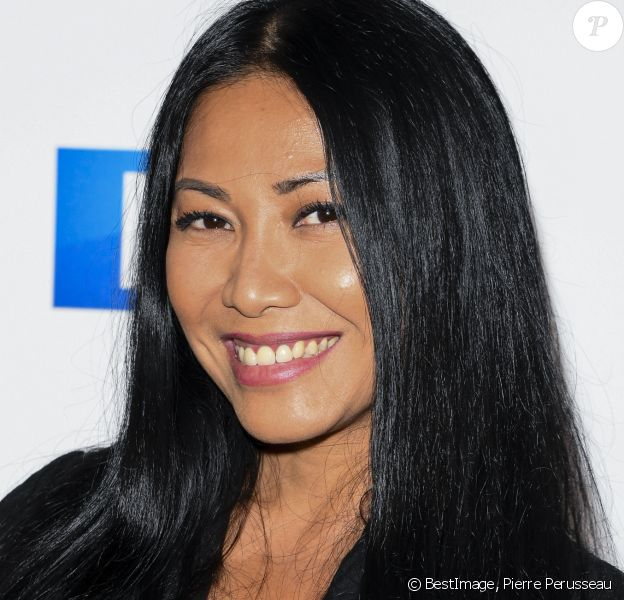 Anggun - Soirée de rentrée 2019 de TF1 au Palais de Tokyo à Paris, le 9 septembre 2019. © Pierre Perusseau/Bestimage