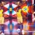 """Dirabi lors de la demi-finale d'""""Incroyable talent 2019"""", le 3 décembre, sur M6"""