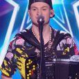 """Grayssoker lors de la demi-finale d'""""Incroyable talent 2019"""", le 3 décembre, sur M6"""