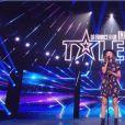 """Marilou lors de la demi-finale d'""""Incroyable talent 2019"""", le 3 décembre 2019"""