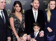 Lionel Messi décroche son 6e Ballon d'or en famille, ses fils chahutent