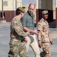 """Le prince William, duc de Cambridge, s'est rendu dans le camp militaire """"Sheikh Salim Al-Ali National Guard Camp"""" à Koweït, pour prendre part à un exercice dans le désert, à l'occasion de son voyage officiel au Koweït. Le 3 décembre 2019"""