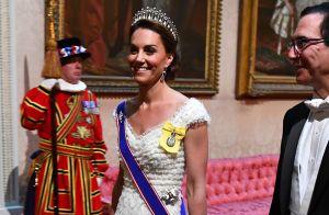 Kate Middleton seule face à Trump à Buckingham: William, Harry et Meghan absents